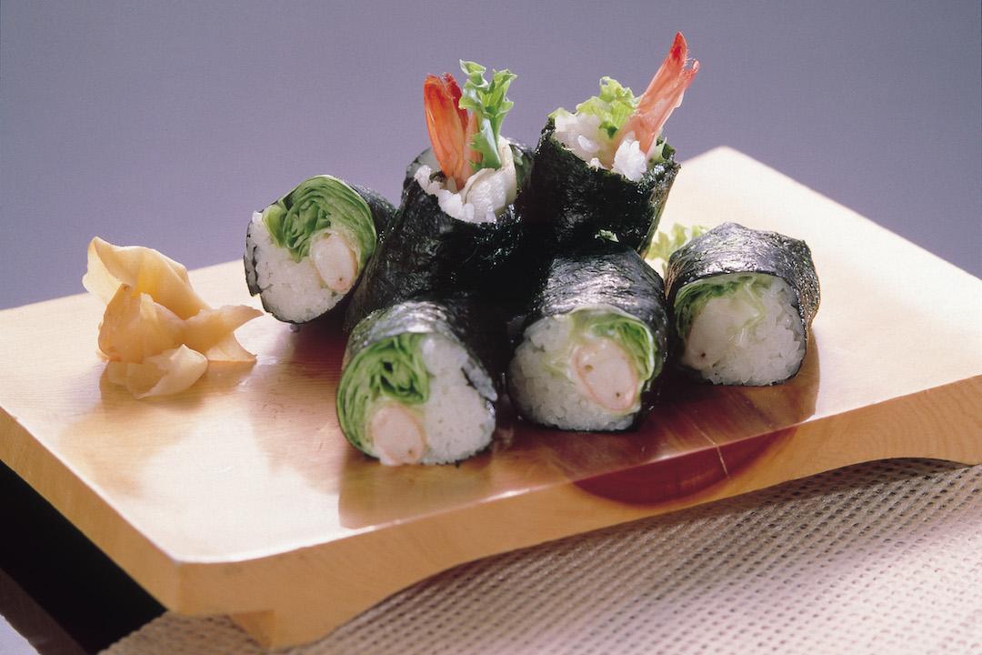 萵苣生菜捲(壽司捲)